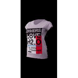 Koszulka damska Santi LOVE H2O